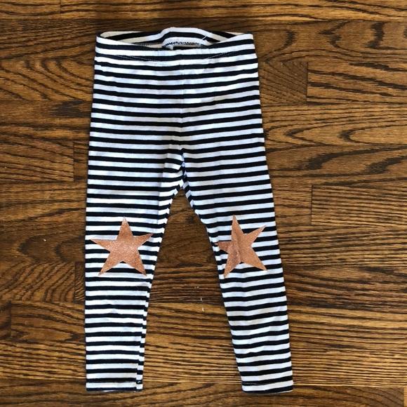 7a97631ea9f84 Cat & Jack Bottoms | Striped Toddler Girl Leggings | Poshmark
